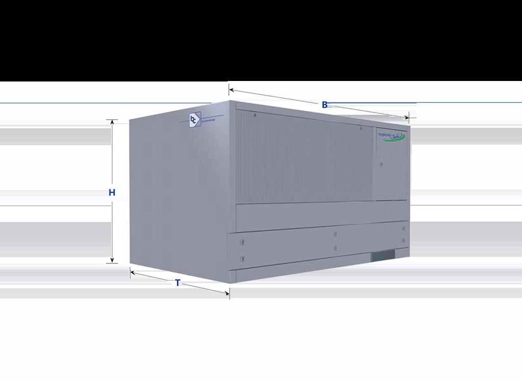 cleanroom unit type bc-vu