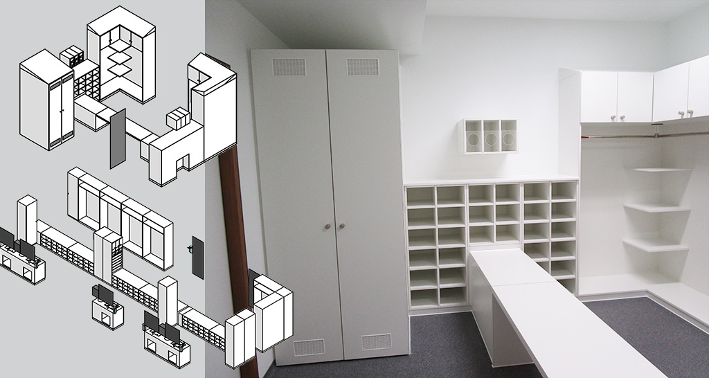 Planning cleanroom furniture