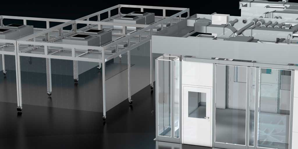 Cleanroom Cabins and CleanoFlex systems