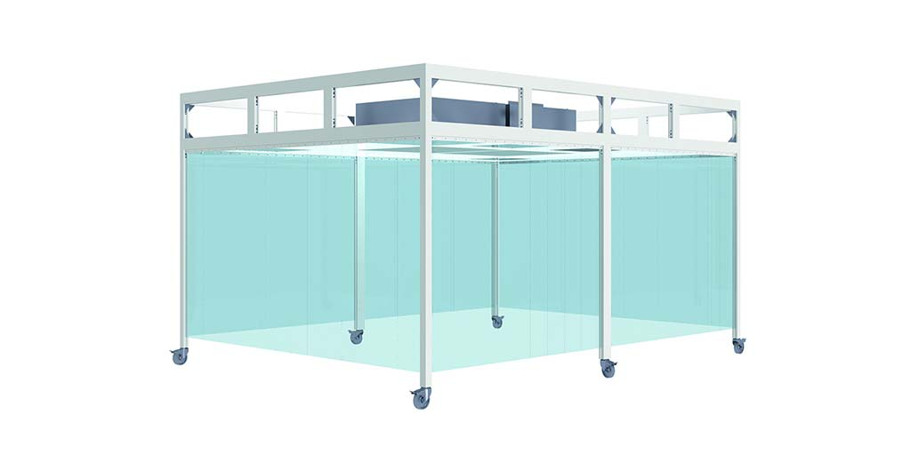 cleanroom cabine type bc-crc